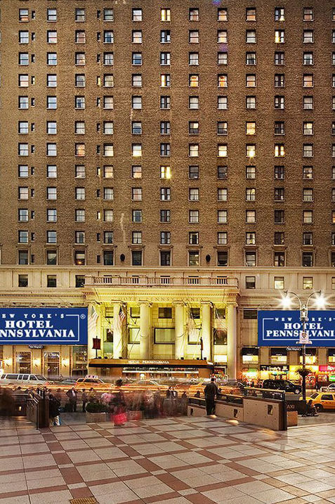 Pennsylvaniya Hotel, NYC